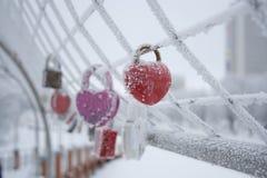 Сердце льда Стоковые Изображения RF