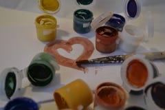 Сердце 2 Стоковые Изображения RF