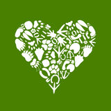 Сердце animal2 Стоковое Изображение RF