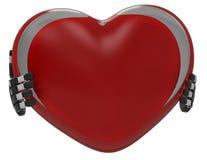 сердце 3d иллюстрация вектора