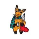 Сердце Fox Стоковые Изображения RF