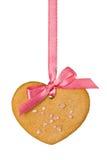 сердце gingerbread Стоковое фото RF