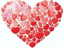Сердце Jevel Иллюстрация вектора
