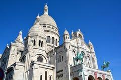 сердце paris базилики священнейший Стоковая Фотография RF