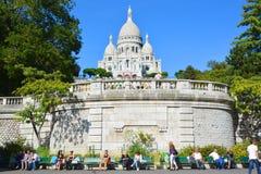 сердце paris базилики священнейший Стоковые Изображения