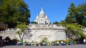 сердце paris базилики священнейший Стоковое Изображение RF