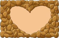 Сердце rock2 Стоковое Изображение
