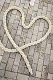 Сердце rope_vertical Стоковое Фото