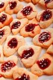 Сердц-форменные печенья Стоковое Фото