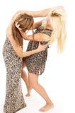 Сестры присягают и воюют Стоковое фото RF
