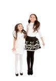 2 сестры скачут Стоковые Фото