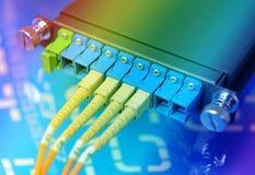 Сетевой сервер волокна стоковая фотография