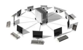 Сетевой сервер Стоковое фото RF