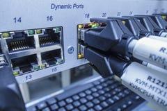 Сетевой сервер стоковое изображение rf