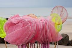 Сети Shrimping Стоковое Фото