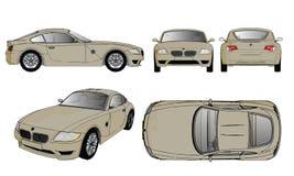 сетка автомобиля резвится вектор Стоковые Изображения RF