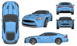 сетка автомобиля резвится вектор стоковые фотографии rf