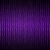 Сетка волокна углерода пурпура комплекта 8 на серой металлической пластине Стоковые Фотографии RF