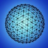 сетка глобуса Стоковое Изображение RF