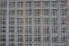 Сетка металла на паллетах Стоковые Изображения