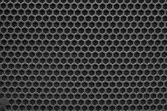 Сетка металла текстуры гриля диктора Стоковые Изображения