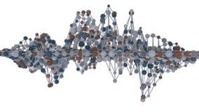 сетка молекулы сети 4K бесплатная иллюстрация