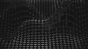 сетка молекулы сети 4K иллюстрация штока