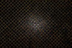 Сетка на воде, абстрактная предпосылка золота решетки, поверхность воды, Стоковые Изображения