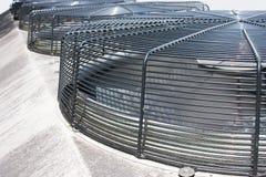 сетка решетки вентиляторов крышек ab охлаждая промышленная Стоковое Изображение