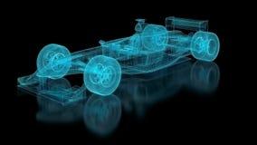 Сетка Формула-1 бесплатная иллюстрация