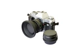 сетноая-аналогов модель разбивателя камеры старая Стоковые Изображения