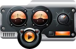 сетноое-аналогов радио Стоковое Изображение RF