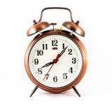 Сетноой-аналогов двойной будильник колокола Стоковое фото RF