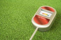 сетноой-аналогов ph-метр почвы Стоковая Фотография RF
