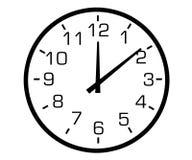 сетноые-аналогов часы иллюстрация вектора
