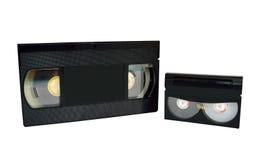 Сетноые-аналогов магнитные ленты для видеозаписи Стоковая Фотография RF