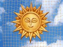 сетчатое солнце Стоковая Фотография
