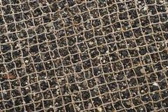 сетчатый песок камушка Стоковое фото RF