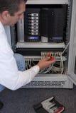 сеть администратора Стоковое фото RF