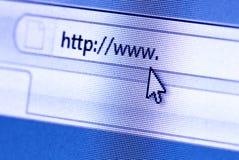 сеть браузера стоковое фото