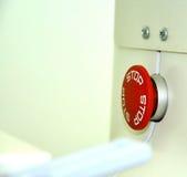 сеть вектора стопа кнопки установленная Стоковая Фотография RF