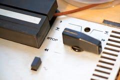 сеть вектора стопа кнопки установленная Стоковые Фотографии RF