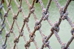 Сеть веревочки Стоковые Изображения