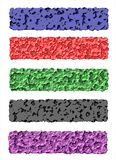 Сеть знамен, красочный, первоначально Стоковые Изображения RF