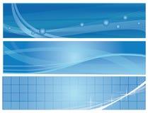 сеть знамен Стоковое Изображение RF