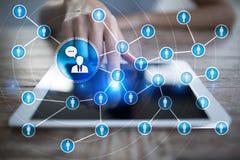 Сеть значка людей SMM средства маркетинга социальные стоковые изображения rf