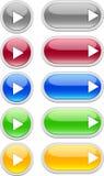 сеть игры кнопок стоковая фотография