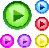 сеть игры кнопок Стоковое фото RF