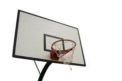 сеть изолированная баскетболом Стоковое фото RF