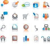 сеть иконы установленная